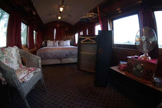 Train Carriage Accommodation at Te Anau Lodge