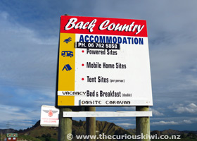 Back Country Accommodation