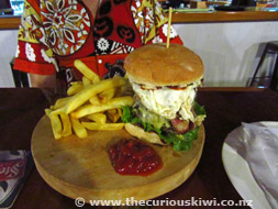 Burger at Billfish Restaurant & Bar