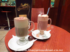 Hot Chocolates at Butlers Chocolate Cafe