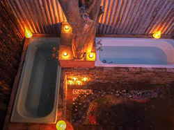 The Eco Villa - Outdoor baths