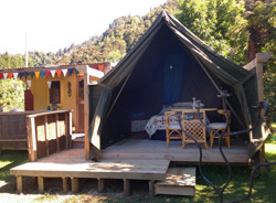 Glamping at The Flying Fox