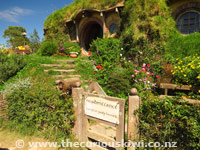 Hobbiton Movie Set - No admittance except on party business