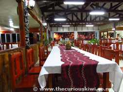 This is where the feasting happens - Liku'alofa Beach Resort