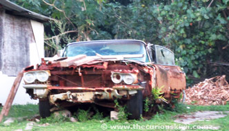 Plymouth Belvedere? Rusting in Peace on Tongatapu