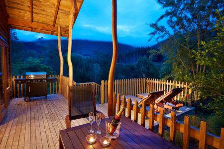 The Resurgence Luxury Eco Lodge - Deck