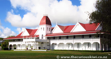 Royal Palace in Nuku'alofa