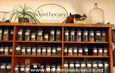 Herbal Teas at The Apothecary, The Tannery
