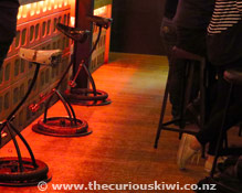 The Pedal Pusher bar stools