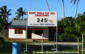 Rugby World Cup 2011 Countdown, Tongatapu